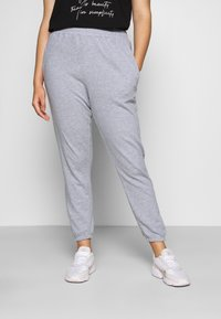 Missguided Plus - JOGGER 2 PACK - Trainingsbroek - black/grey - 3