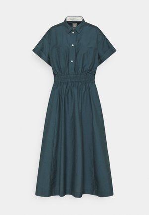 WOMENS DRESS - Shirt dress - petrol