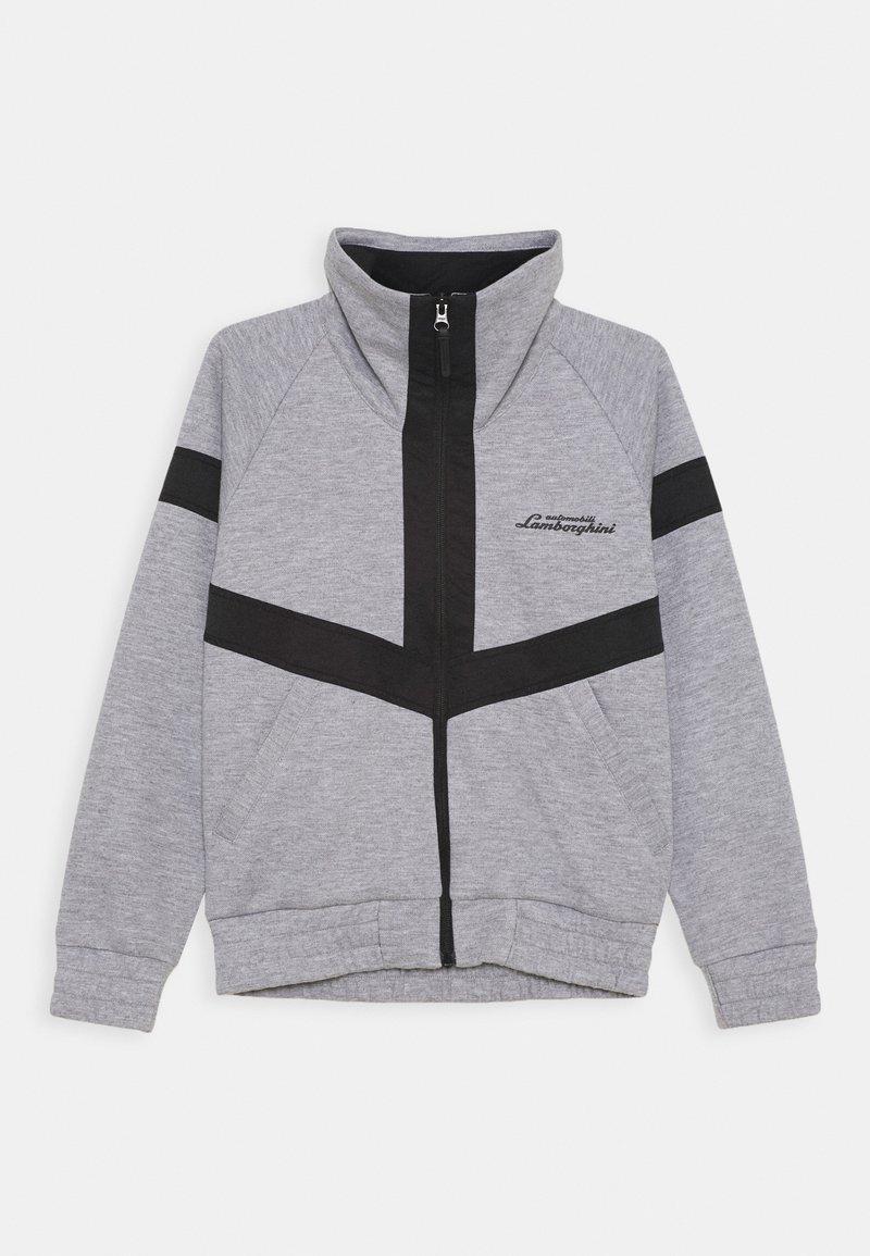 Automobili Lamborghini Kidswear - JACKET WITH CONTRAST INSERTS - Light jacket - grey antares