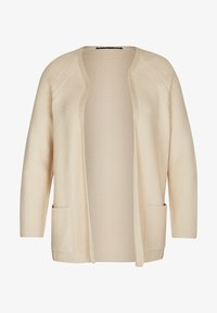 LeComte - MIT OFFENER FRONT - Cardigan - sand - 0