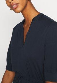 Selected Femme Tall - SLFMIE-DAMINA DRESS TALL - Day dress - dark sapphire - 5