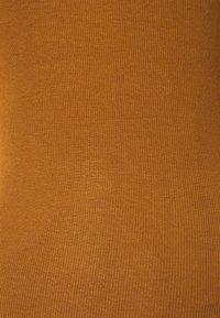 Modström - KROWN - Basic T-shirt - brown oak - 6