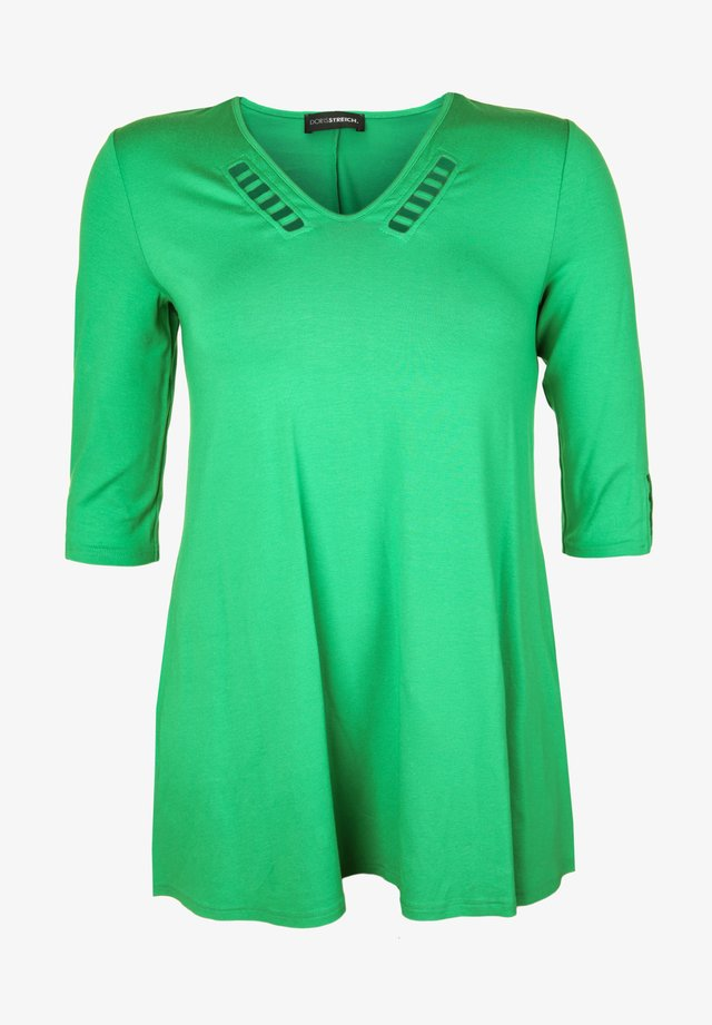 MIT CUT-OUTS - Tunic - gras