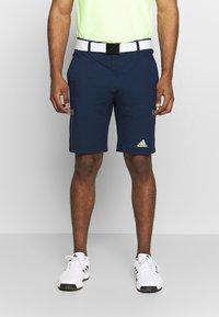 adidas Golf - SPORT - Sportovní kraťasy - collegiate navy - 0