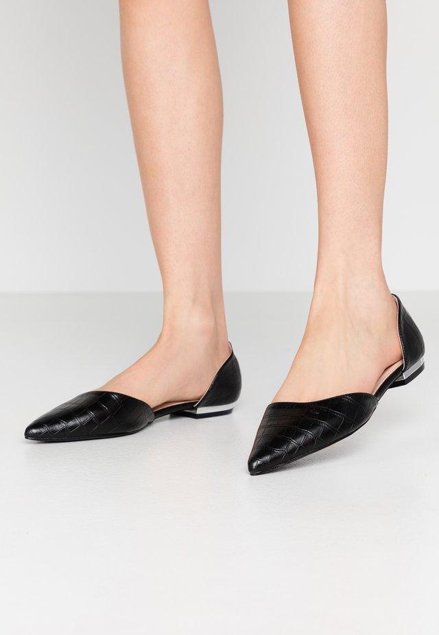 CAROLINE - Ballerinat - black
