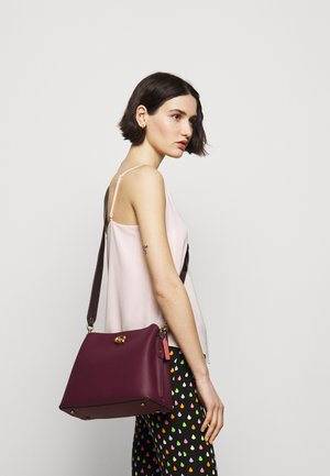 COLORBLOCK WILLOW SHOULDER BAG - Handbag - black/cherry/multi
