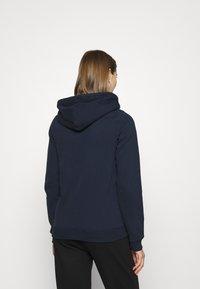 Hollister Co. - TECH CORE - Zip-up hoodie - navy - 2