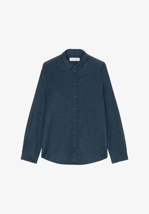 SAMTIGER CORD-QUALITÄT - Button-down blouse - breezy sea