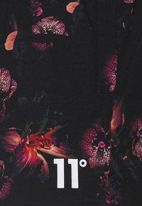 11 DEGREES - FLORAL SWIM  - Swimming shorts - black/red - 2
