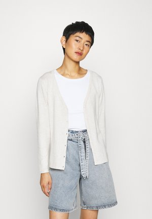 DOLLIE - Cardigan - light sand melange
