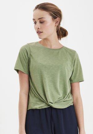 IHFLORA SS2 - T-shirt print - hedge green