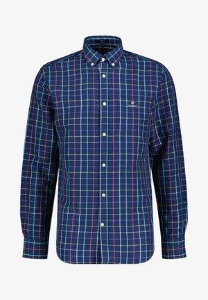 REGULAR FIT LANGARM - Shirt - marine