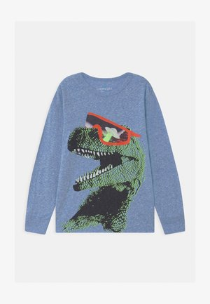 UFO DINO - Print T-shirt - blue