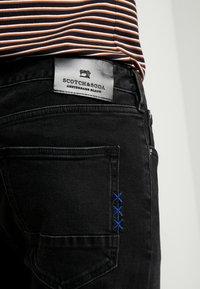 Scotch & Soda - SKIM  - Slim fit jeans - black out - 5
