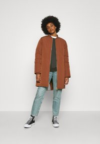 Scotch & Soda - PADDED JACKET WITH PRIMALOFT FILLING - Winter coat - cinnamon - 1