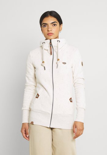 RYLIE MARINA ZIP - Zip-up sweatshirt - beige