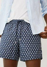 Mango - ALARO - Swimming shorts - bleu marine foncé - 0