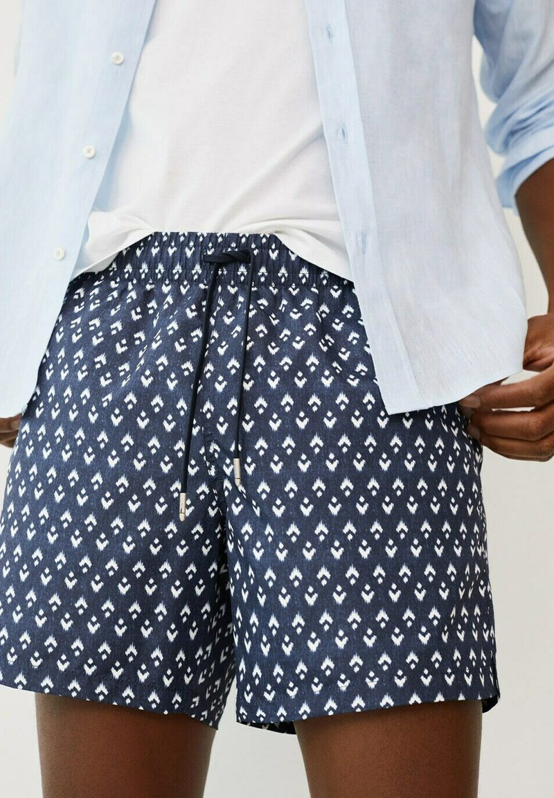 Mango - ALARO - Swimming shorts - bleu marine foncé