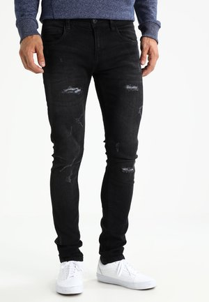 PALMDALE - Vaqueros slim fit - black
