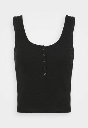 BARE HENLEY TANK - Top - black