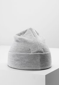 Moss Copenhagen - MOJO BEANIE - Czapka - light grey melange - 2