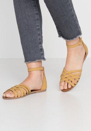 JINXER  - Sandals - yellow