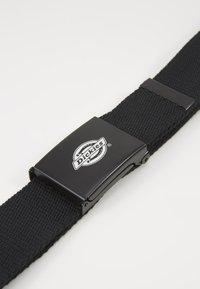 Dickies - ORCUTTWEBBING BELT UNISEX - Belt - black - 2