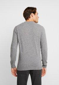 Timberland - COHAS BROOK MERINO  - Jumper - medium grey heather - 2