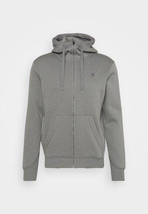 PREMIUM CORE ZIP - Zip-up hoodie - charcoal