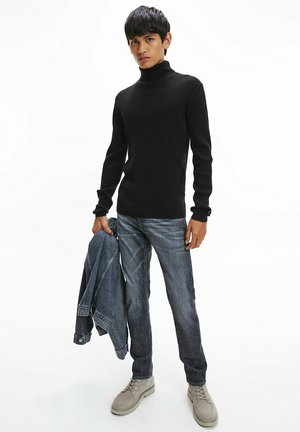 ROLL NECK  - Pullover - ck black