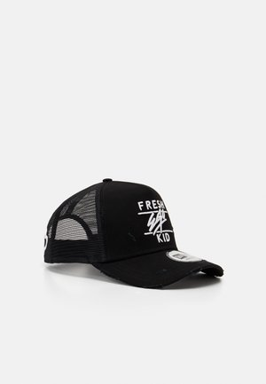 DISTRESSED TRUCKER  - Cap - black