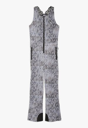 SKI DUNGAREE  - Snow pants - beige