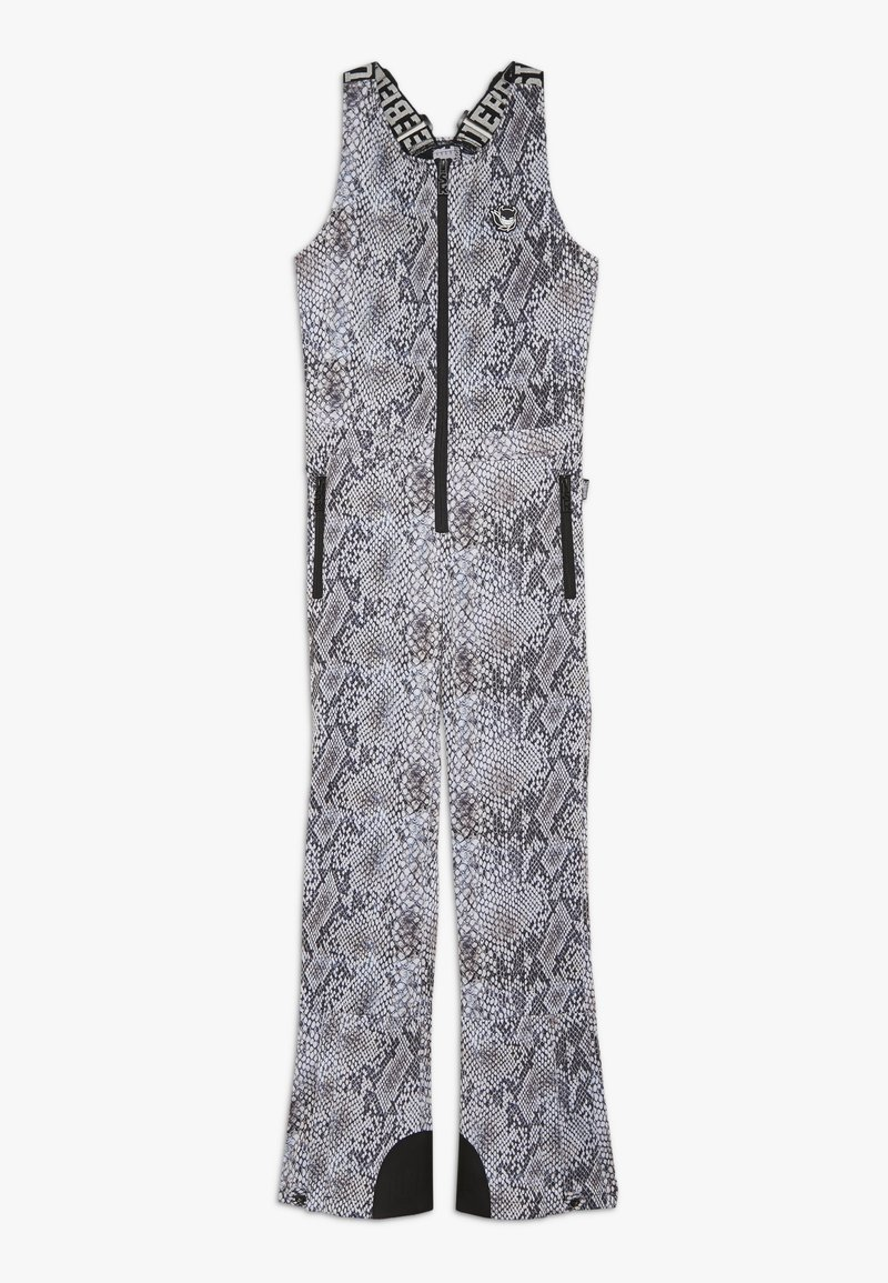 SuperRebel - SKI DUNGAREE  - Talvihousut - beige