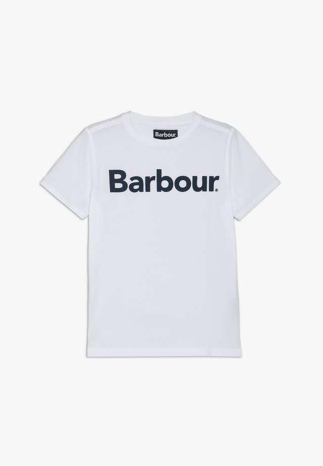 BOYS LOGO TEE - T-shirt print - white