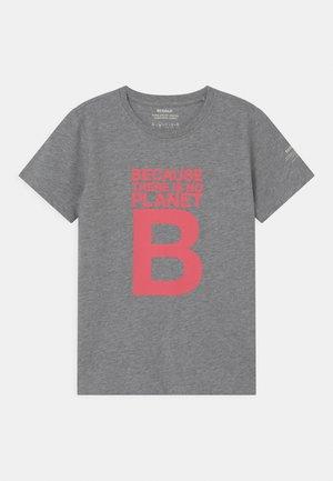 GREAT B - T-shirt print - grey melange
