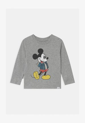 TODDLER BOY MICKEY MOUSE GRAPHICS - Bluzka z długim rękawem - light heather grey