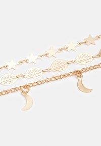 Fire & Glory - FGLEAFA ANKLET 3 PACK - Bracelet - gold-coloured - 2