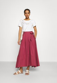 WEEKEND MaxMara - OBLARE - Pleated skirt - dunkelmauve - 1