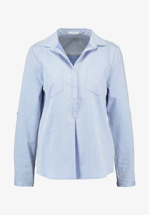 FALENTA DOBBY - Bluser - morning blue