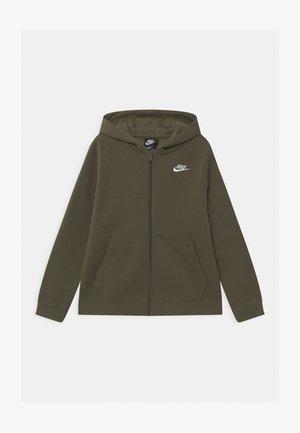 PLUS HOODIE CLUB - Zip-up hoodie - cargo khaki