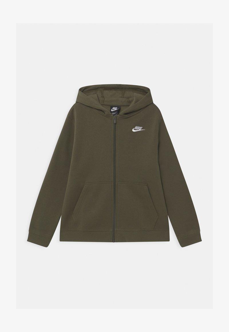 Nike Sportswear - PLUS HOODIE CLUB - Mikina na zip - cargo khaki