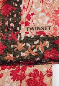 TWINSET - Foulard - nero/pesca - 2