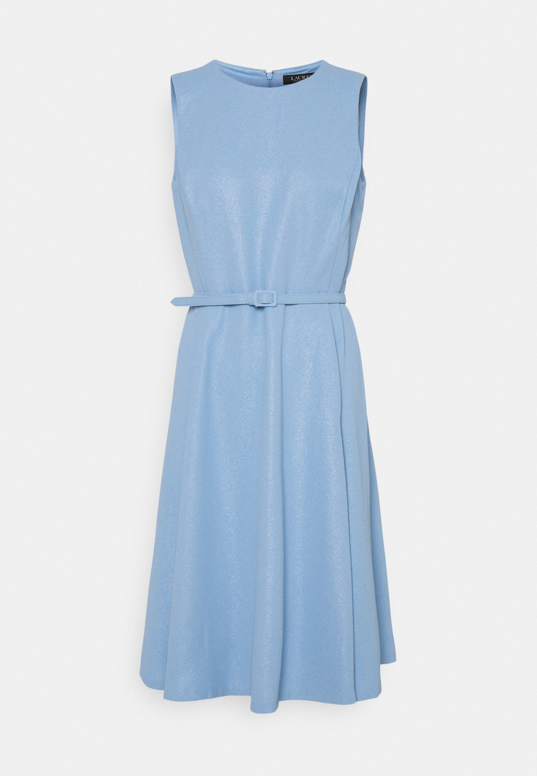 Women WOODSTCK FOIL DRESS - Day dress