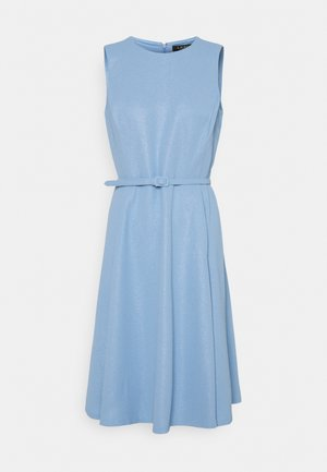 WOODSTCK FOIL DRESS - Day dress - light sky blue