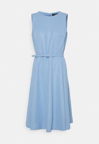 WOODSTCK FOIL DRESS - Day dress - light sky blue