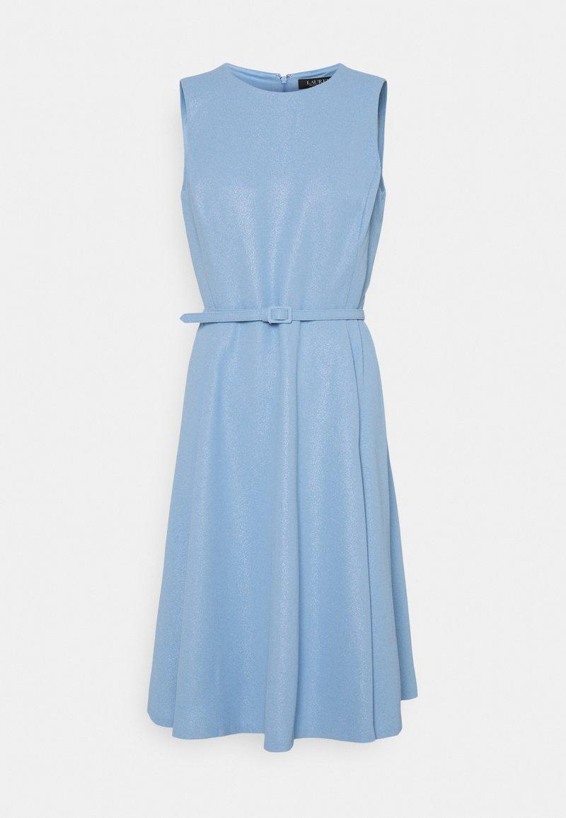 Lauren Ralph Lauren - WOODSTCK FOIL DRESS - Denní šaty - light sky blue