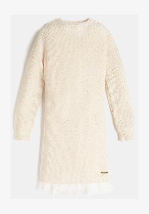 EINSATZ AUS - Jumper dress - weiß