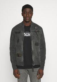 Be Edgy - BE THEO PAT - Denim jacket - schwarz - 0