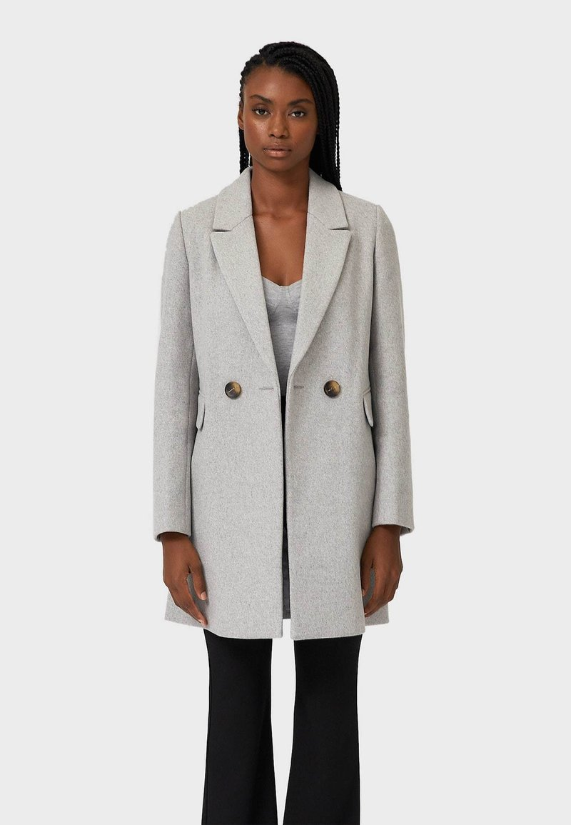 Stradivarius - Manteau court - grey