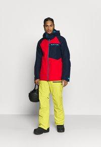 Burton - COVERT - Snow pants - limeade - 1